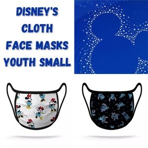 Disney Face Mask Stitch Minnie Mouse 2 Youth Small